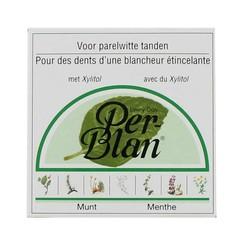 Perblan Kruidentandpoeder mint (30 gram)