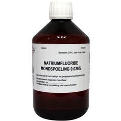 Fagron Natriumfluoride mondspoeling 0.025 (500 ml)