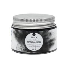 Ben & Anna Tandpoeder zwart active charcoal (20 gram)