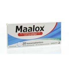 Maalox Maalox (20 kauwtabletten)