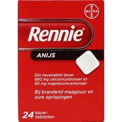 Rennie Rennie anijs UAD (24 tabletten)