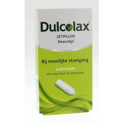 Dulcolax Dulcolax 10 mg UAD (6 zetpillen)