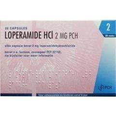 Pharmachemie Loperamide HCL 2 mg (20 capsules)