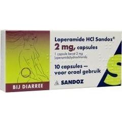 Sandoz Loperamide 2 mg (10 capsules)