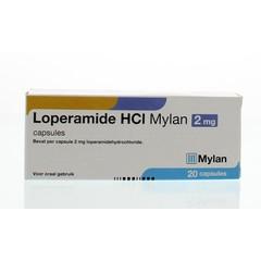 Mylan Loperamide 2 mg (20 capsules)