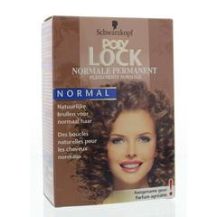 Poly Lock Permanentvloeistof normaal (1 set)