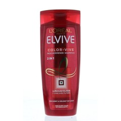 Loreal Elvive 2 in 1 shampoo color vive gekleurd haar (250 ml)
