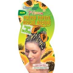 Montagne 7th Heaven haarmasker rescue pulped papaya (25 ml)