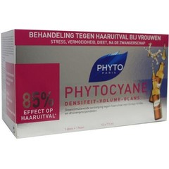 Phyto Paris Phytocyane haaruitval behandeling (12 ampullen)