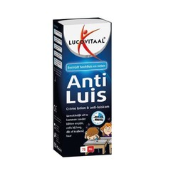 Lucovitaal Anti- luis creme lotion + kam (75 ml)