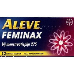 Aleve Aleve feminax (12 tabletten)