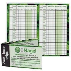 Nagel Zuurbase strips voor het testen van pH-waarde (100 stuks)
