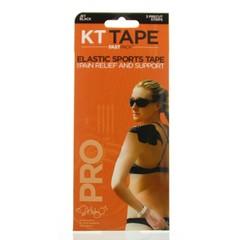 KT Tape Pro precut fastpack zwart 10inch (3 stuks)