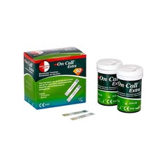 On Call Extra glucose teststrips (50 stuks)