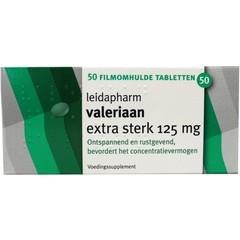 Leidapharm Valeriaanextract 125 mg (50 tabletten)