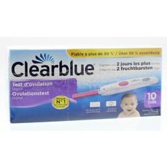 Clearblue Digitale ovulatie stick (10 stuks)