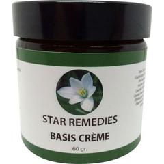 Star Remedies Basis creme 100% natuurlijk (60 gram)