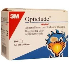 Opticlude Oogpleister mini (100 stuks)