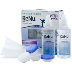 Bausch & Lomb ReNu MPS sensitive flight pack (2x60 ml)