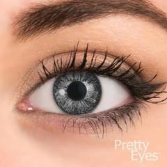 Pretty Eyes 1-Dag kleurlens 2P parelgrijs (2 stuks)