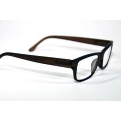 IBD Leesbril bruin mat +1.00 (1 stuks)