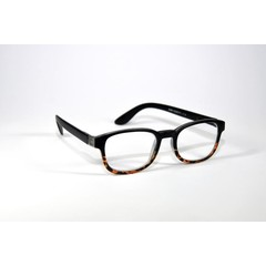 IBD Leesbril zwart glans +1.00 (1 stuks)