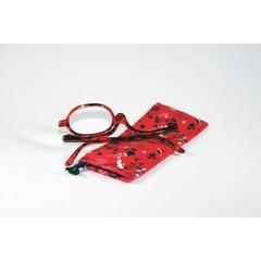 IBD Make up bril rood +2.50 (1 stuks)