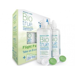 Bausch & Lomb Biotrue MPS flight pack (1 stuks)