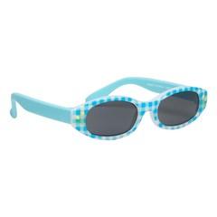 Haga Eyewear Zonnebril kind 0-2 jaar ruit blauw (1 stuks)