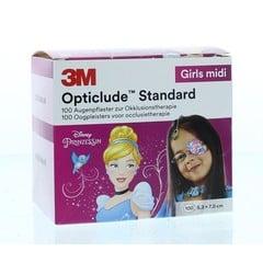 Opticlude Opticlude oogpleister midi girl disney (100 stuks)