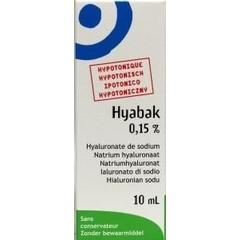 Hyabak Protector oogdruppels N F (10 ml)