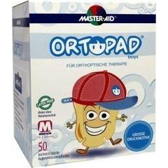Ortopad Oogpleister boys medium grote motieven (50 stuks)
