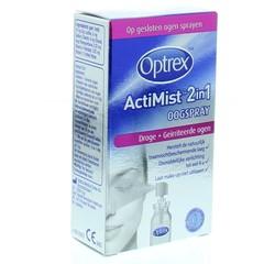 Optrex Actimist 2 in 1 droge + geirriteerde ogen (10 ml)