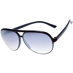 Haga Eyewear Zonnebril retro groot zwart (1 stuks)