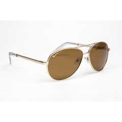 Haga Eyewear Zonnebril piloten bruin gepolariseerd (1 stuks)
