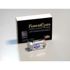 Kawaeyes 1 Maand crazy lens pink star (1 paar)
