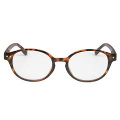 IBD Leesbril mat Havana rond +1.00 (1 stuks)