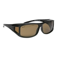 Haga Eyewear Zonnebril overzetbril bruin polariserend (1 stuks)