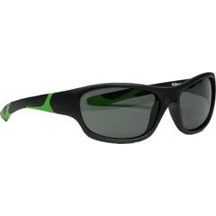 Melleson Zonnebril junior 3 - 8 jaar zwart groen (1 stuks)