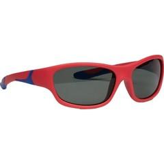 Melleson Zonnebril junior 3 - 8 jaar rood blauw (1 stuks)