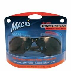Macks Shooting safety glass smoke (1 stuks)