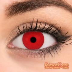 Kawaeyes Jaarlenzen full red (1 paar)