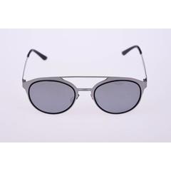 Haga Eyewear Zonnebril zilver rond (1 stuks)