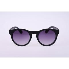 Haga Eyewear Zonnebril mat zwart rond (1 stuks)