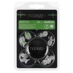 Noizezz Gehoorbescherming premium groen medium demping (1 stuks)