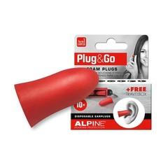 Alpine Plug & go rood (5 paar)