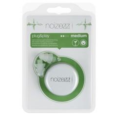Noizezz Plug & play groen F 24db (1 paar)
