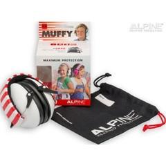 Alpine Muffy white oorkappen (1 stuks)