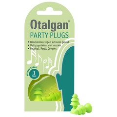 Otalgan Party plugs (1 paar)