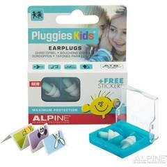 Alpine Pluggies kids oordopjes (1 paar)